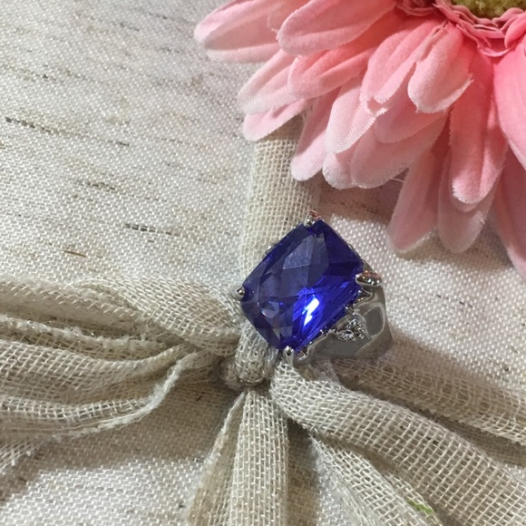 Jewelry - 🆕 Tanzanite Fashion Gemstone Silver Ring